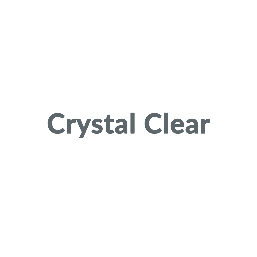 Crystal Clear promo codes
