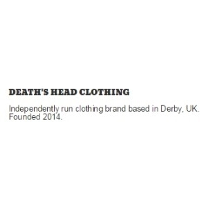 DEATH'S HEAD CLOTHING promo codes