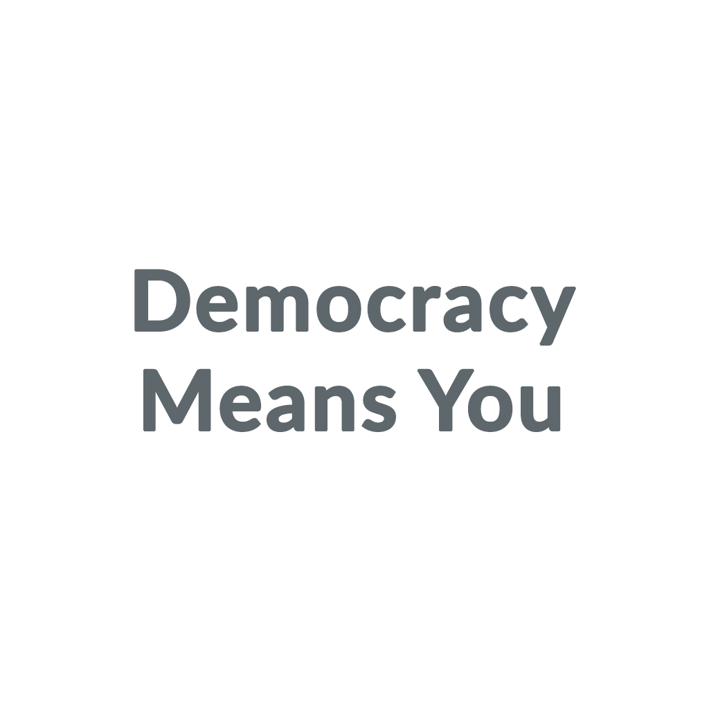 Democracy Means You promo codes