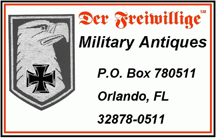 Der Freiwillige Military Antiques promo codes