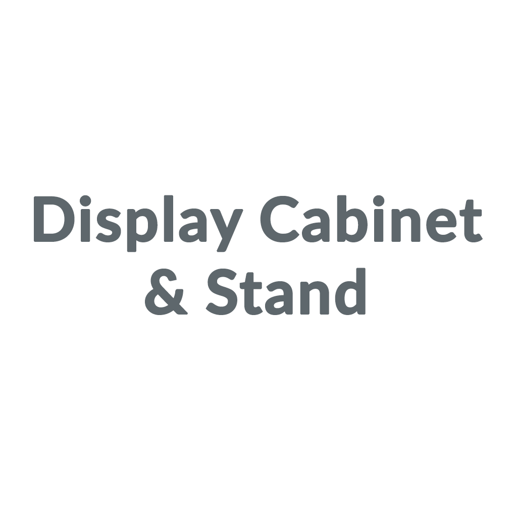 Display Cabinet & Stand
