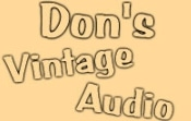 Don's Vintage Audio promo codes