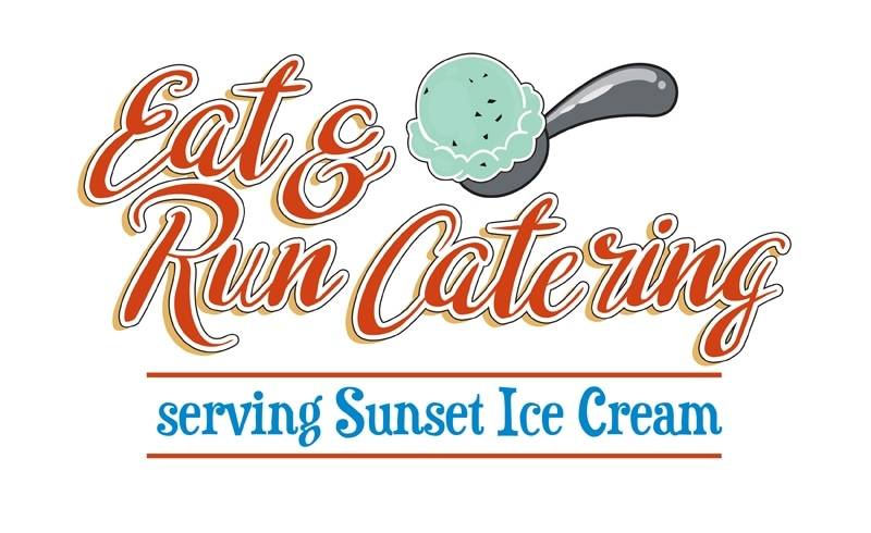 Eat and Run Catering serving Sunset Ice Cream