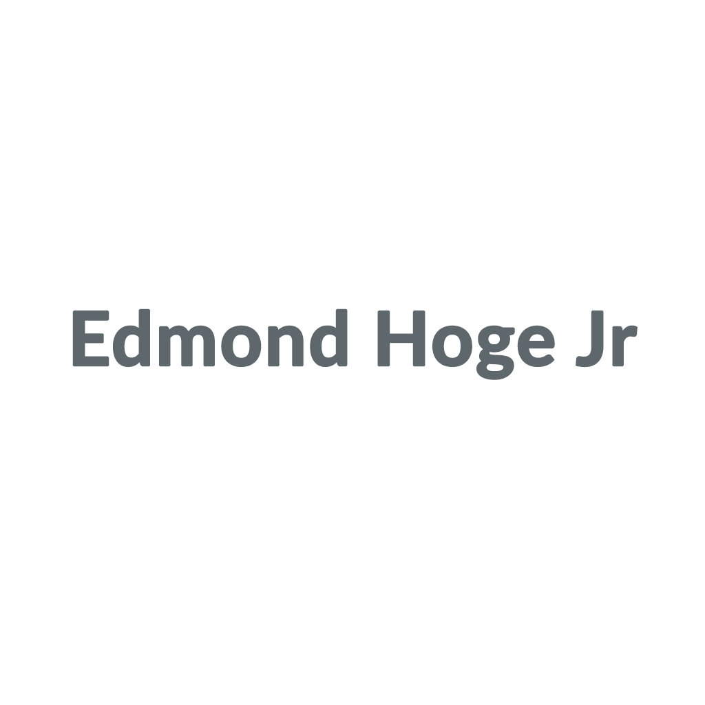 Edmond Hoge Jr