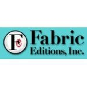 Fabric Editions promo codes