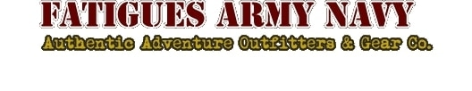 Fatigues Army Navy promo codes
