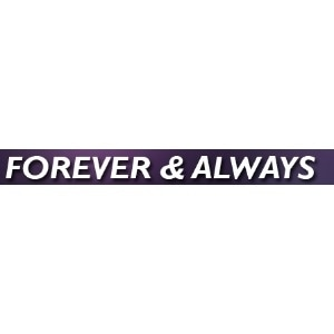 Forever And Always promo codes