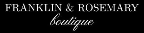 Franklin and Rosemary Boutique promo codes