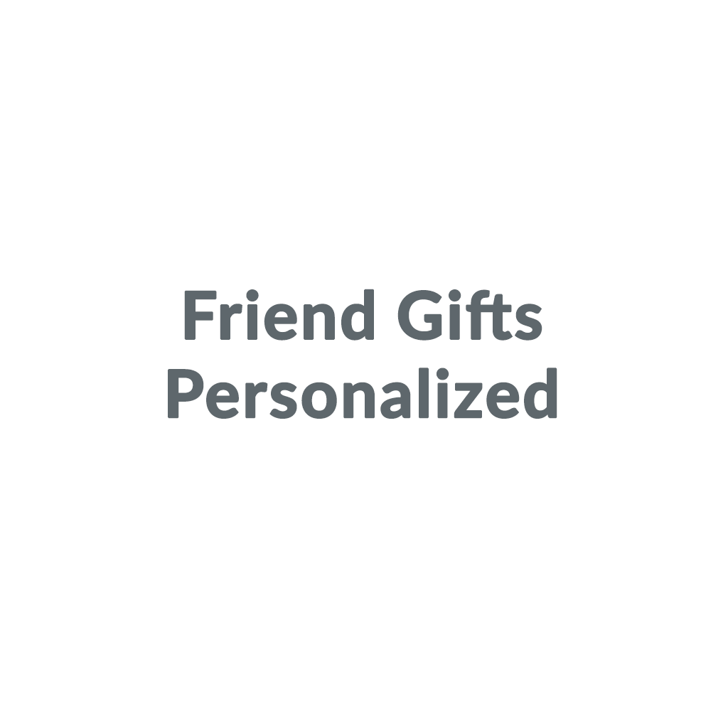 Friend Gifts Personalized promo codes