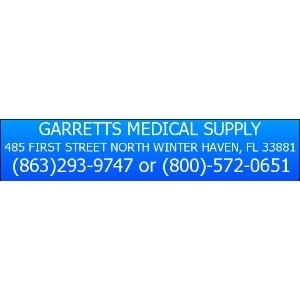 Garrett's Medical Supply promo codes