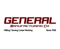 General Manufacturing Company promo codes