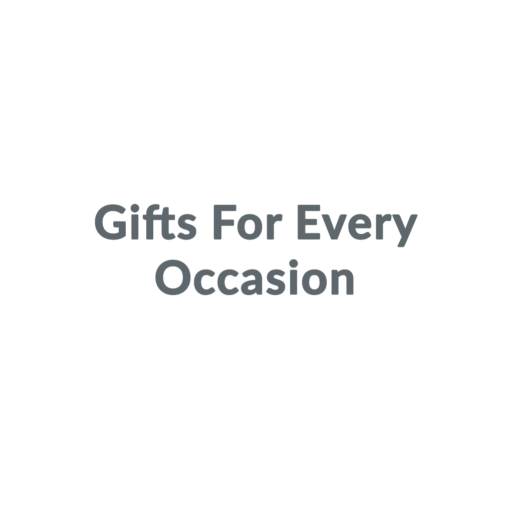 Gifts For Every Occasion promo codes