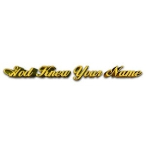 God Knew Your Name promo codes