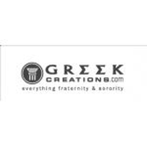 GreekCreations.com promo codes