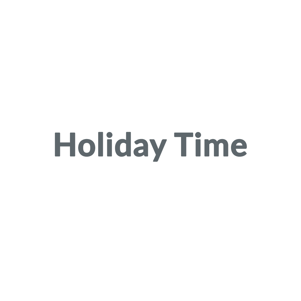 Holiday Time promo codes