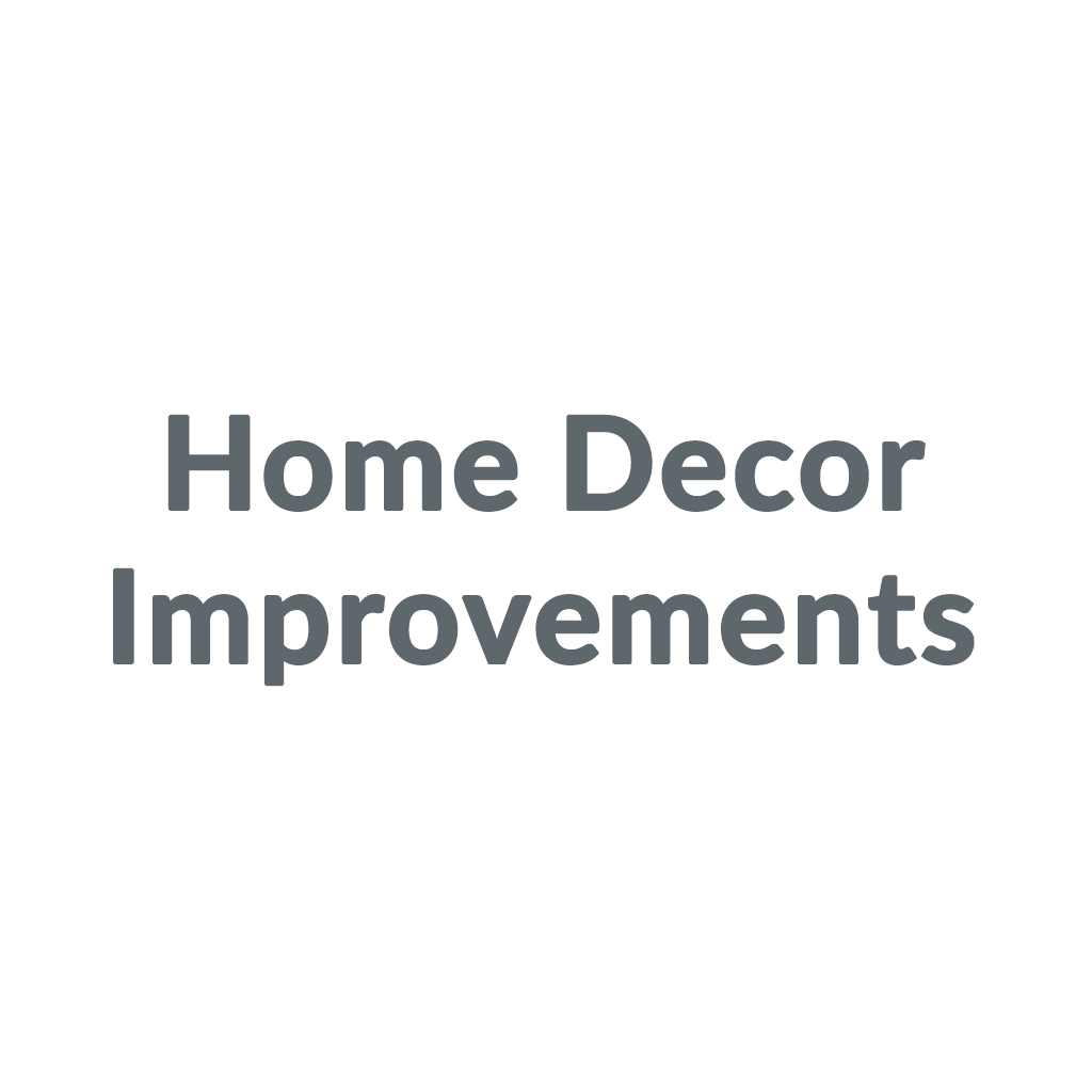 Home Decor Improvements promo codes