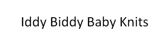Iddy Biddy Baby Knits promo code