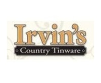 Irvin's Country Tinware promo codes