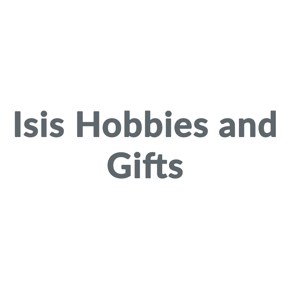Isis Hobbies and Gifts promo codes