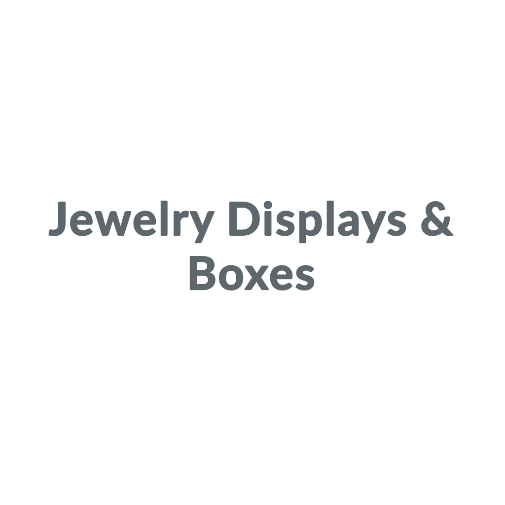 Shop Jewelry Displays & Boxes