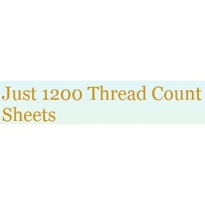 Just 1200 Thread Count Sheets