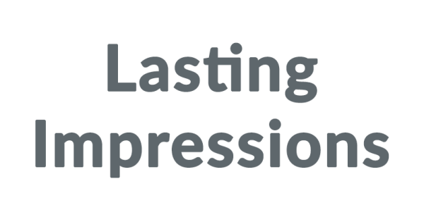Shop with LASTING IMPRESSIONS Discount Code, Save with AnyCodes. Smart customers would never pay full price. Glad to see the SMART YOU find us, AnyCodes. We provide a wide range of offers including online promo codes & deals, promotions & sales, and in-store printable coupons.