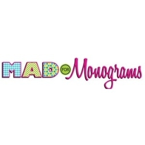 Mad for Monograms promo codes