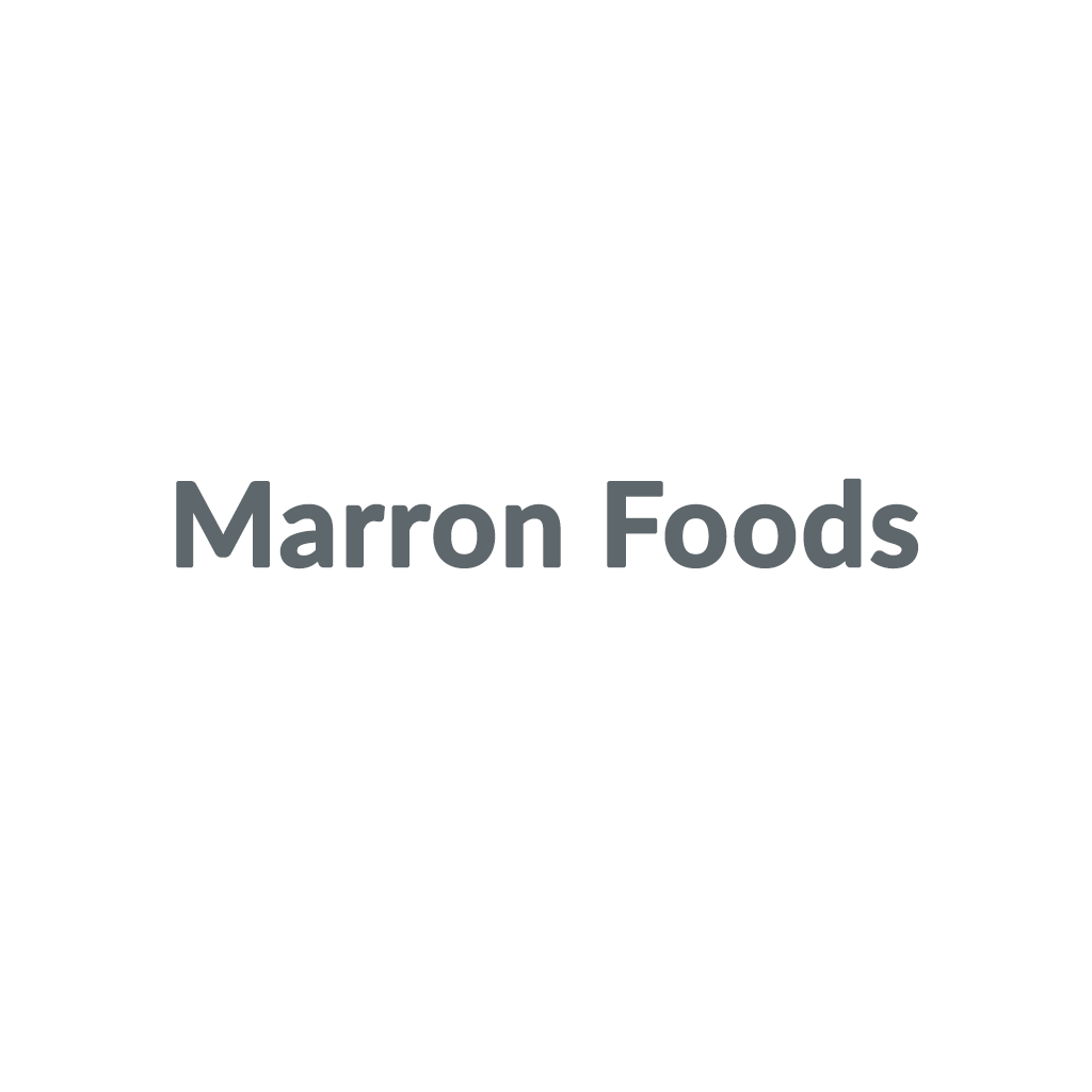 Marron Foods promo codes