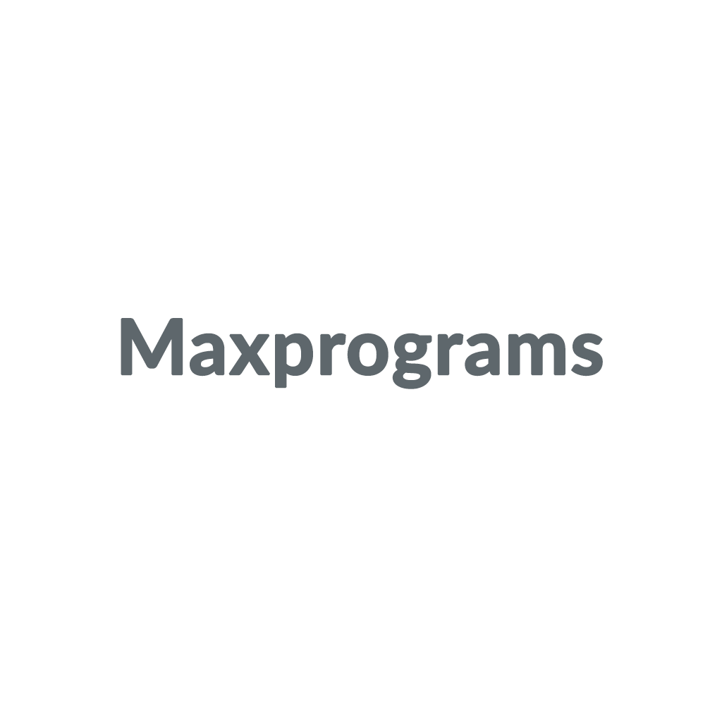 Maxprograms promo codes