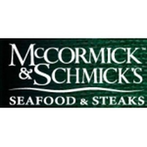 McCormick and Schmick's promo codes