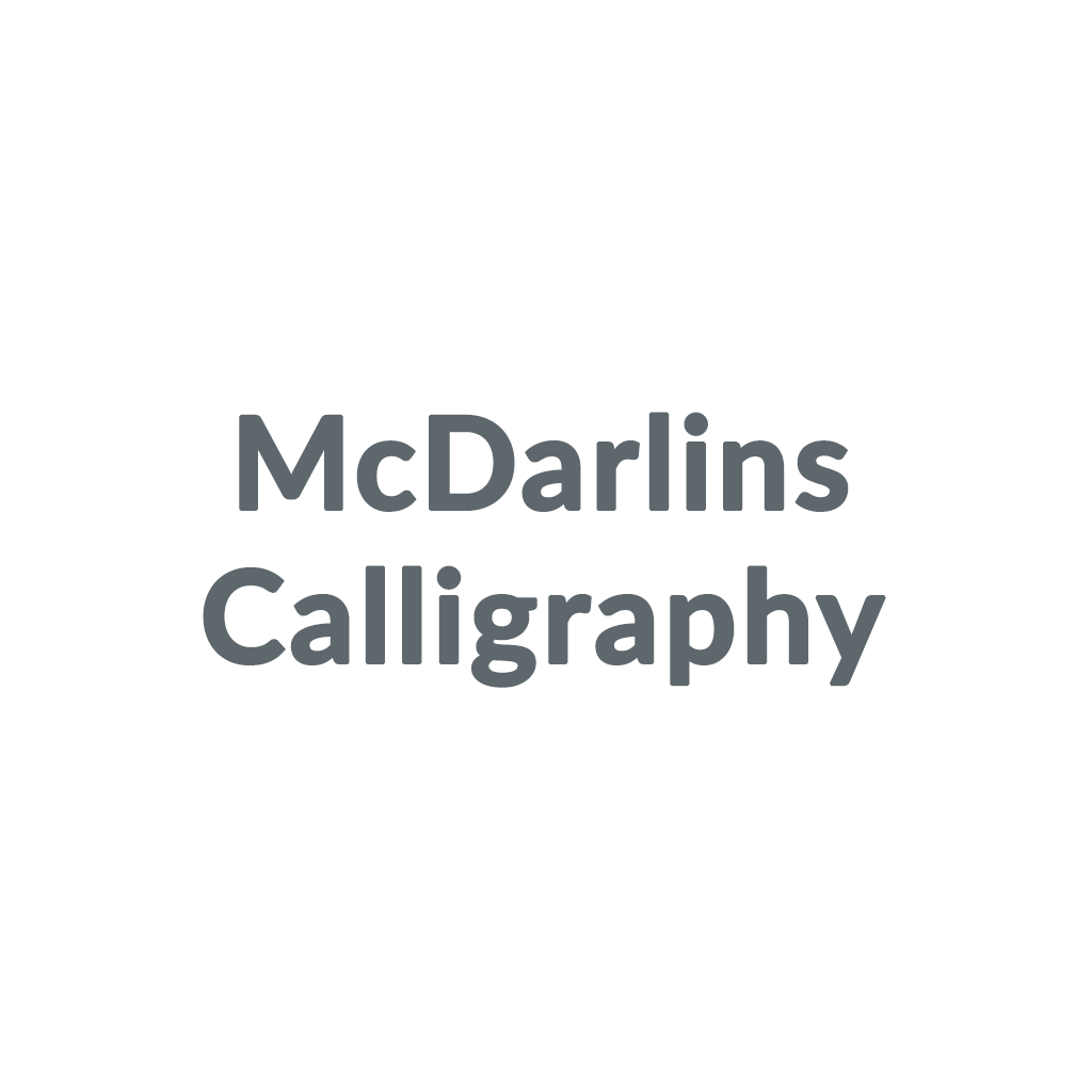 McDarlins Calligraphy promo codes