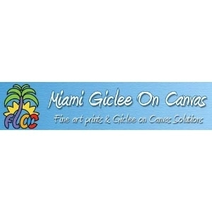 Miami Florida Giclee On Canvas promo codes