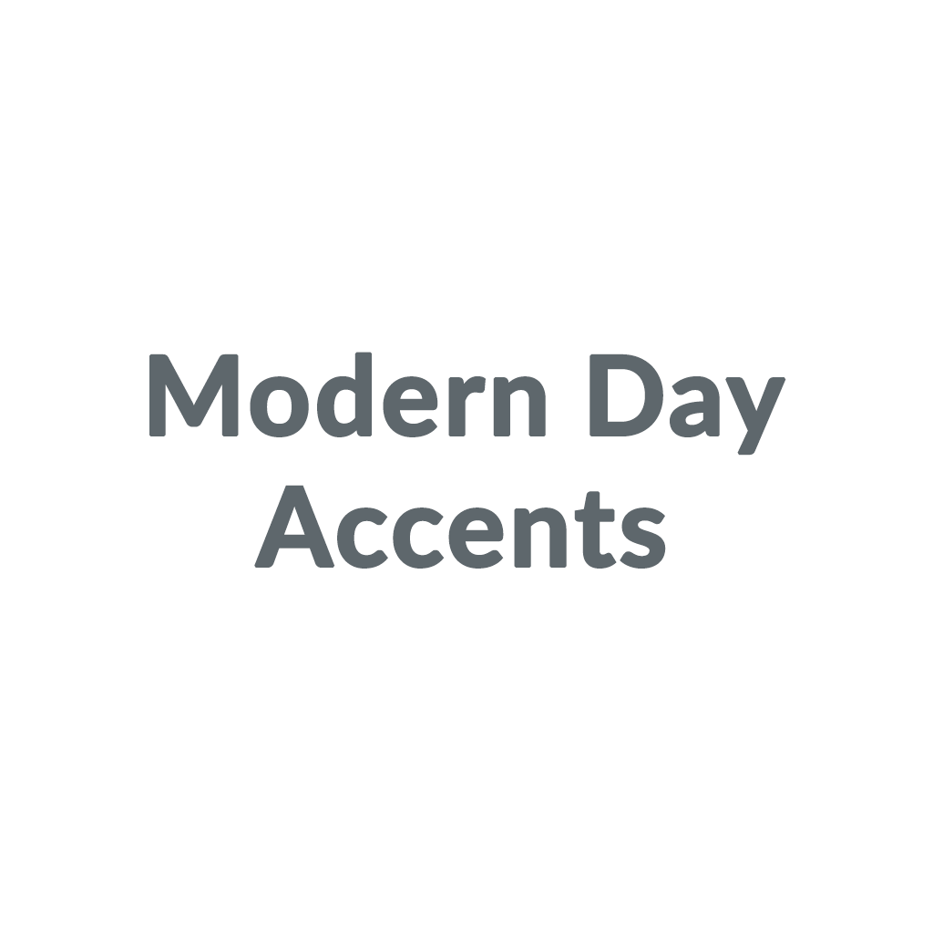 Modern Day Accents promo codes