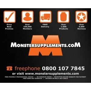 Monster Supplements promo codes