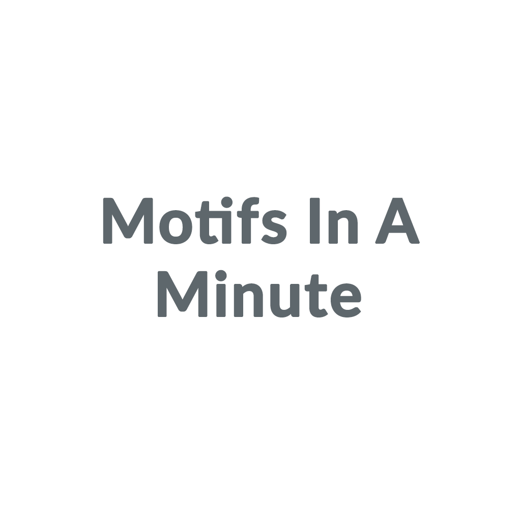 Motifs In A Minute promo codes