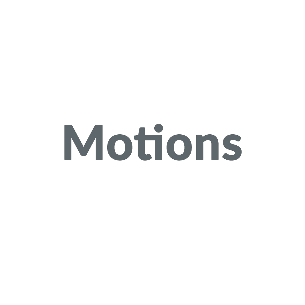 Motions promo codes