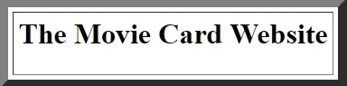 The Movie Card promo codes