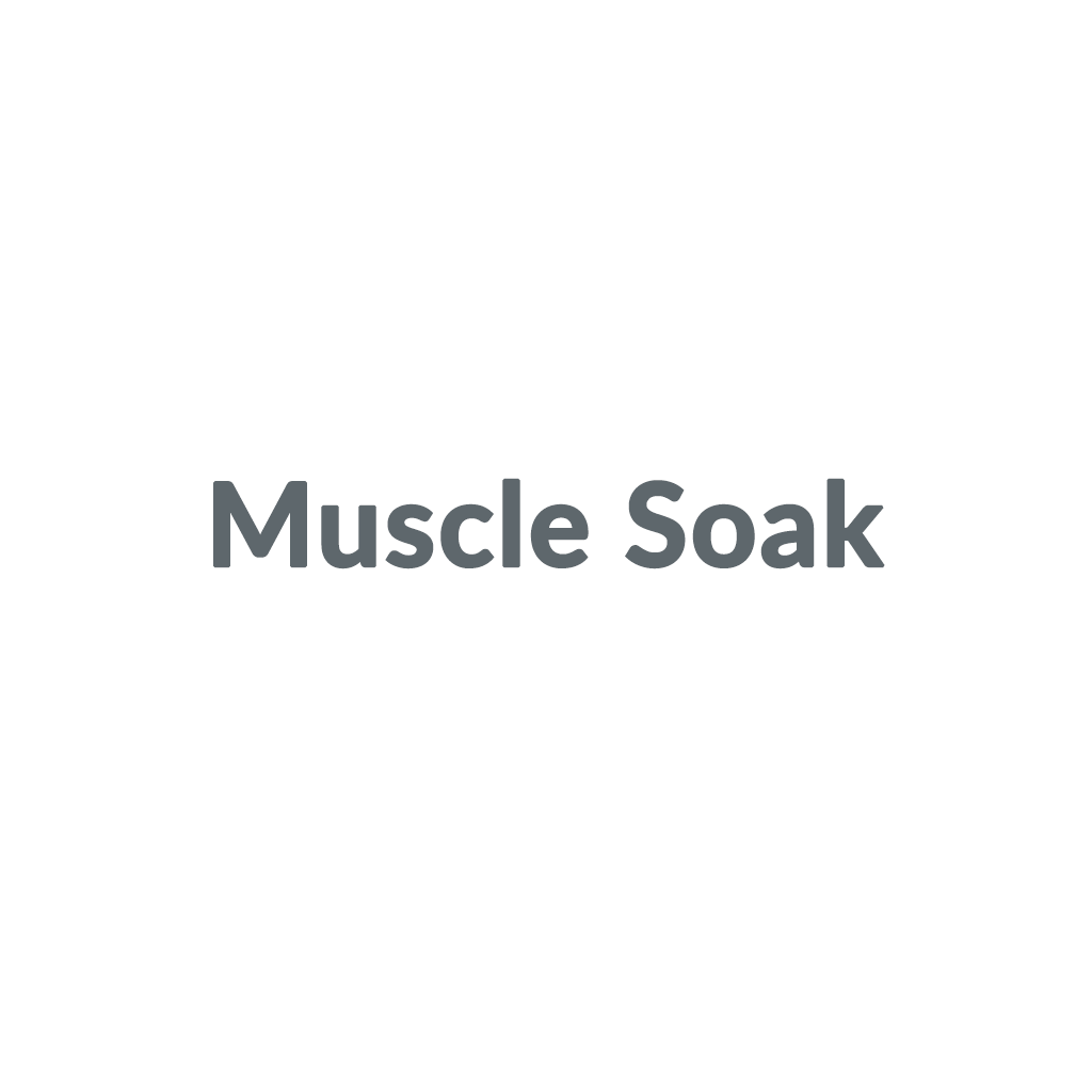 Muscle Soak promo codes