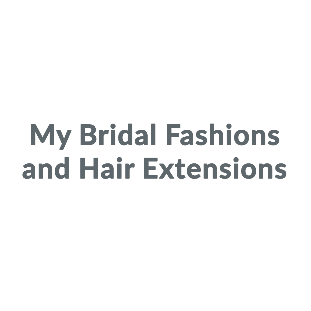 My Bridal Fashions and Hair Extensions promo codes