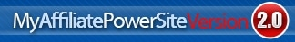 MyAffiliatePowerSite Version 2.0 promo codes