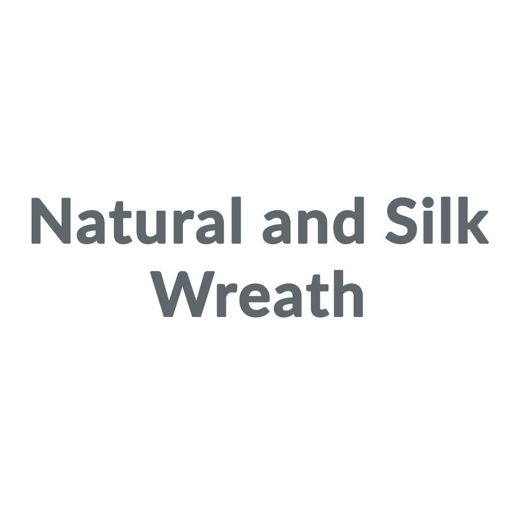Natural and Silk Wreath