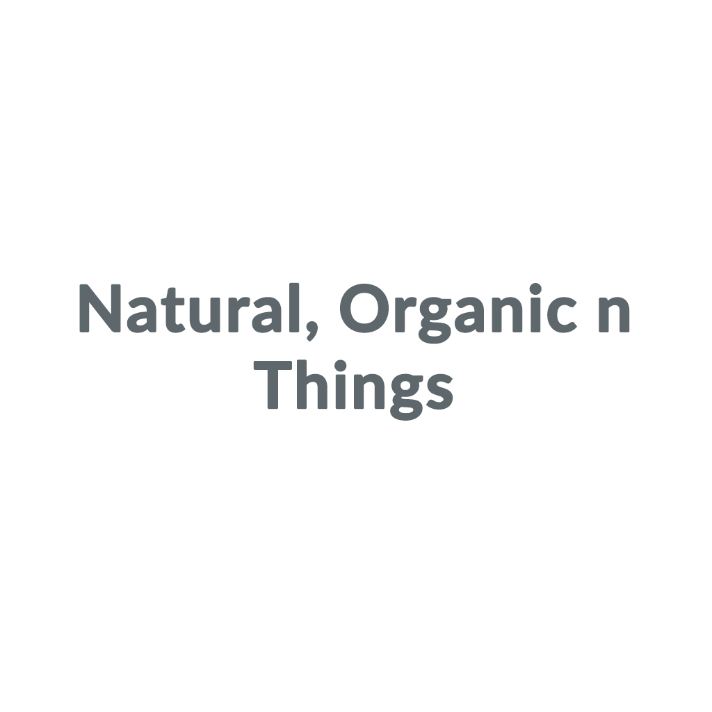 Natural, Organic n Things promo codes