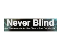 Never Blind promo codes