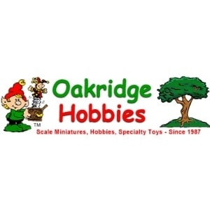 Oakridge Hobbies & Toys promo codes