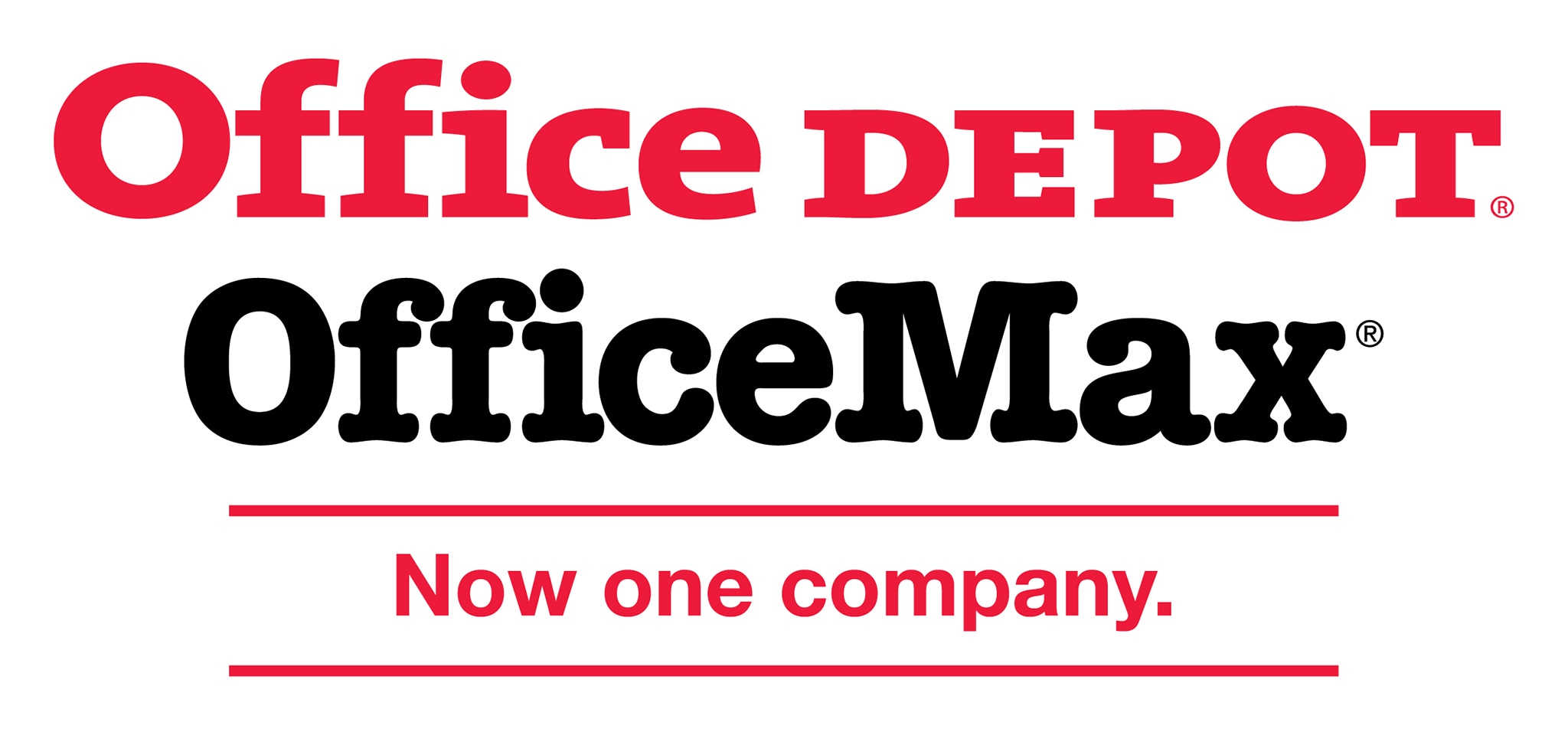 Office Depot and Office Max logo