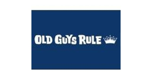 Apply the Old Guys Rule Coupon Code at check out to get the discount immediately. Don't forget to try all the Old Guys Rule Coupon Codes to get the biggest discount. To give the most up-to-date Old Guys Rule Coupon Codes, our dedicated editors put great effort to update the discount codes and deals every day through different channels.