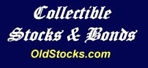 Collectible Stocks and Bonds promo codes