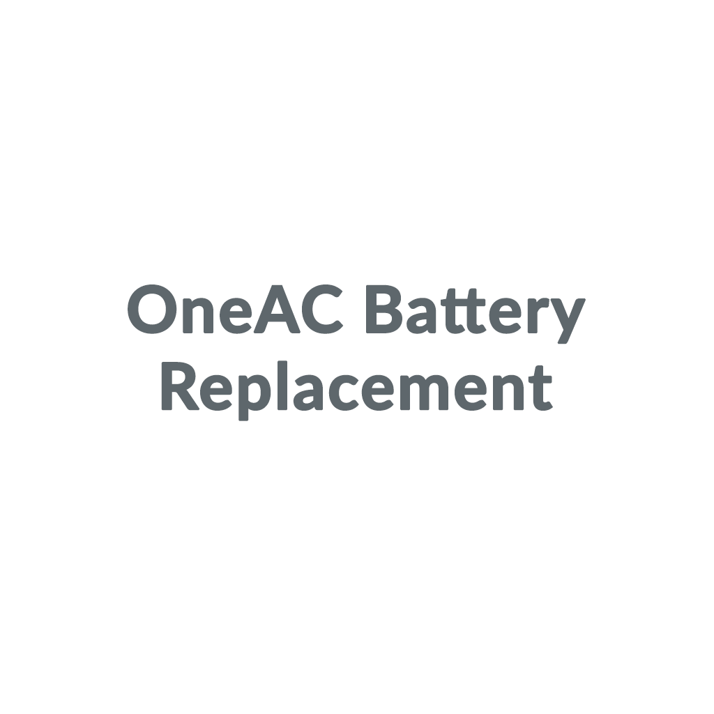 OneAC Battery Replacement promo codes
