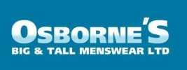 Osbornes Big and Tall Menswear promo codes