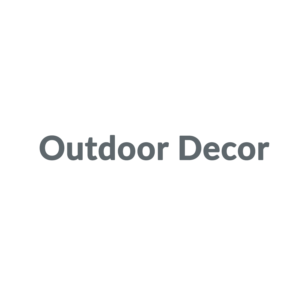 Outdoor Decor promo codes